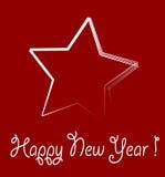 новый год звезды Стоковое Фото
