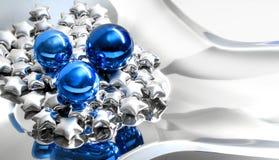 новый год звезд Стоковое фото RF