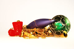 новый год игрушек стоковое фото rf