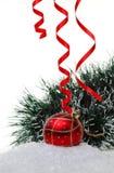 новый год игрушки снежка s Стоковые Фото