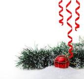 новый год игрушки снежка s Стоковые Фотографии RF