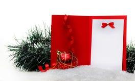 новый год игрушки снежка s Стоковая Фотография