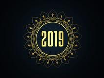 Новый Год 2019 - изображение представленное 3D бесплатная иллюстрация