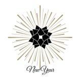 Новый Год иллюстрации Стоковая Фотография