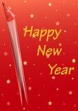 Новый Год карточки счастливое Стоковые Фото