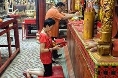 Новый Год китайца городка Малайзии, Penang Джордж Стоковое Изображение