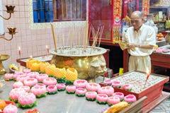 Новый Год китайца городка Малайзии, Penang Джордж Стоковые Фото