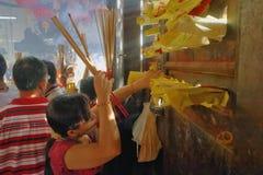 Новый Год китайца городка Малайзии, Penang Джордж Стоковое Изображение RF