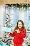 Новый Год концепции, с Рождеством Христовым Стоковая Фотография