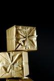 Новый Год коробки Стоковое Изображение