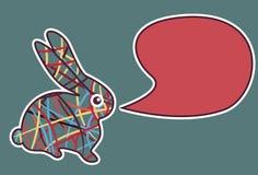 новый год кролика Стоковое Изображение