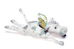 Новый Год летания украшения коровы Стоковые Фото