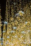 Новый Год Москва Улица Nikolskaya Стоковая Фотография