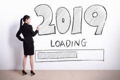 Новый Год нагружает теперь стоковые изображения