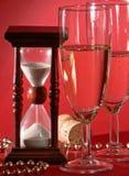 Новый Год полночи кануна Стоковые Фотографии RF