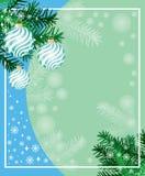 Новый Год предпосылки Иллюстрация штока
