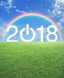 Новый Год принципиальной схемы счастливое Стоковые Фото