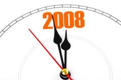 Новый Год принципиальной схемы Стоковое Изображение RF