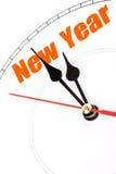 Новый Год принципиальной схемы Стоковое Изображение