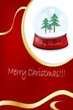 Новый Год рамки рождества Стоковое Изображение