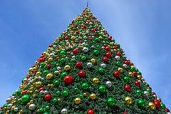 Новый Год рождества предпосылки Стоковая Фотография