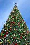 Новый Год рождества предпосылки Стоковое Изображение RF
