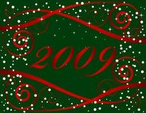 Новый Год рождества предпосылки Стоковая Фотография RF