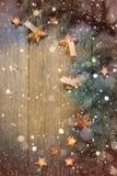 Новый Год рождества счастливое веселое Справочная информация Стоковое Изображение