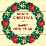 Новый Год рождества счастливое веселое бесплатная иллюстрация