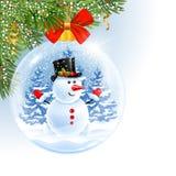 Новый Год рождества шарика иллюстрация штока