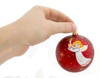 Новый Год рождества шарика Стоковая Фотография