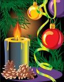 Новый Год рождества Иллюстрация вектора