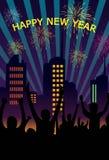 новый год старта Стоковое фото RF