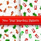 новый год текстуры Стоковое Изображение