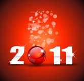 Новый Год торжества предпосылки Стоковые Изображения RF