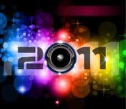 Новый Год торжества предпосылки Стоковое Фото