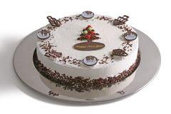Новый Год торта Стоковые Изображения RF