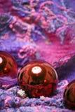 Новый Год украшений рождества стоковые изображения