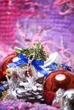 Новый Год украшений рождества стоковое фото rf