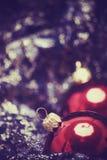 Новый Год украшений рождества стоковое изображение rf