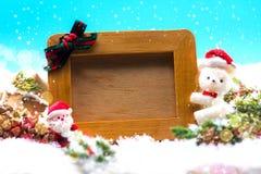 Новый Год украшения рождества Стоковая Фотография