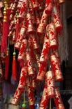 Новый Год украшения 3 китайцев Стоковая Фотография RF