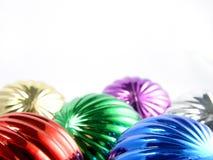 Новый Год цвета шариков Стоковое Изображение