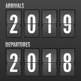 Новый Год часов сальто стоковая фотография rf