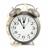 Новый Год часов Стоковое фото RF