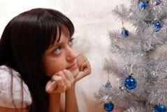 Новый Год чуда превидения Стоковая Фотография