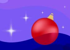 Новый Год шарика иллюстрация вектора