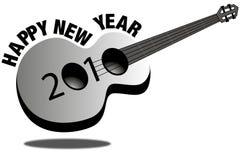 Новый Год 2010 гитары Бесплатная Иллюстрация