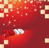 Новый Год 2010 карточек Стоковое фото RF