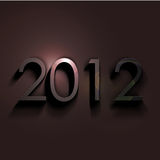 Новый Год 2012 Стоковая Фотография RF